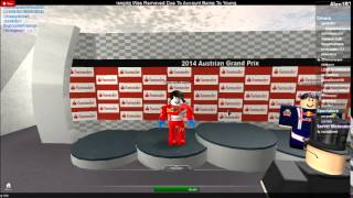 Roblox. F1 2014 Race. Podium time