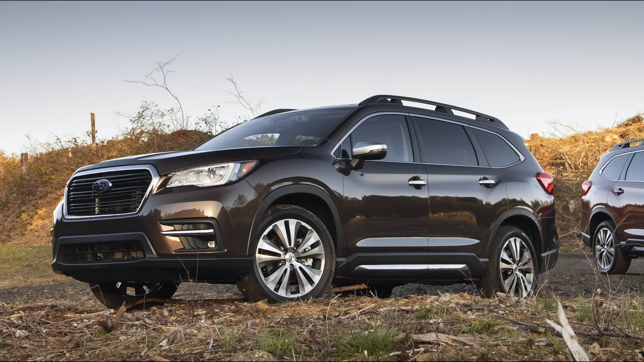2019 Subaru Ascent Touring Quick Look In 4k Youtube
