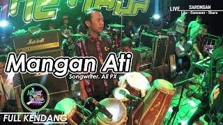 Inez Tinensia - Mangan Ati | FULL KENDANG | FERI KENDANG | ONE NADA Live Sarongan