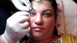 Tatuaj ochi Zarescu Dan 0745001236 $ZZ http://www.machiajtatuaj.ro