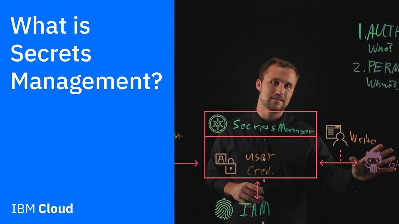 What is Secrets Management?