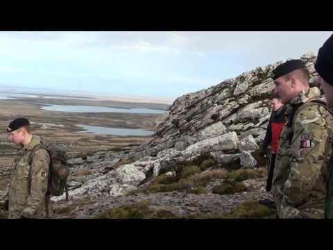 Battlefield Tour Of Mount Harriet 20