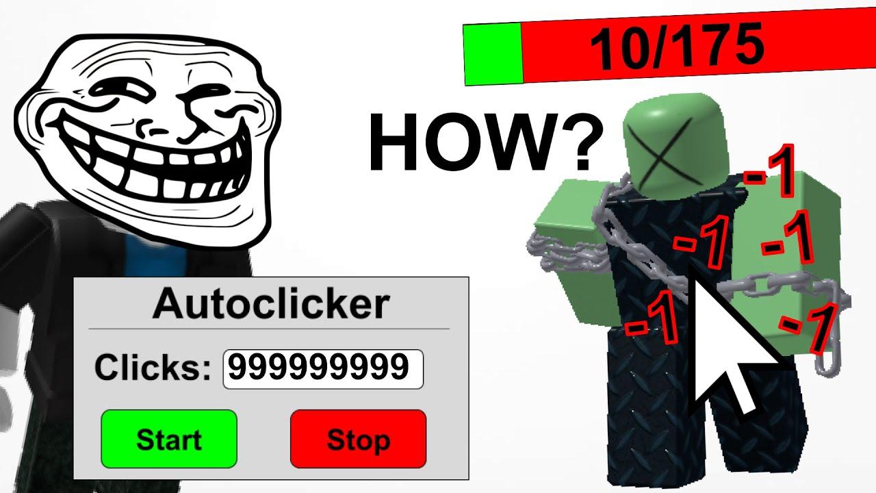If clicking enemies damaged them... (TDS Meme)