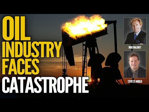 Oil Industry Faces Catastrophe - Mike Maloney & Steve St Angelo (Part 2/4)
