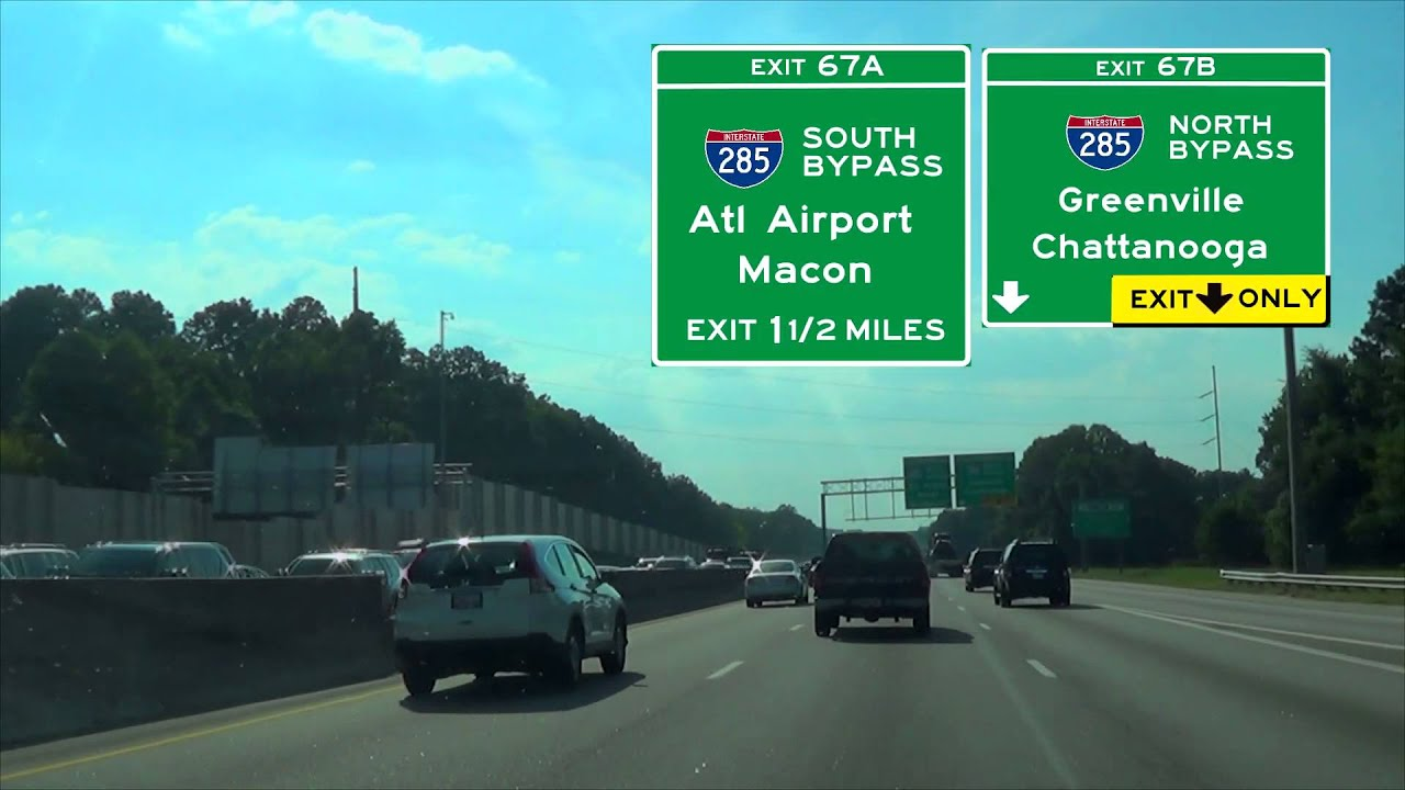 I 20 West Mile 85 To Mile 53 To Atlanta Ga Youtube
