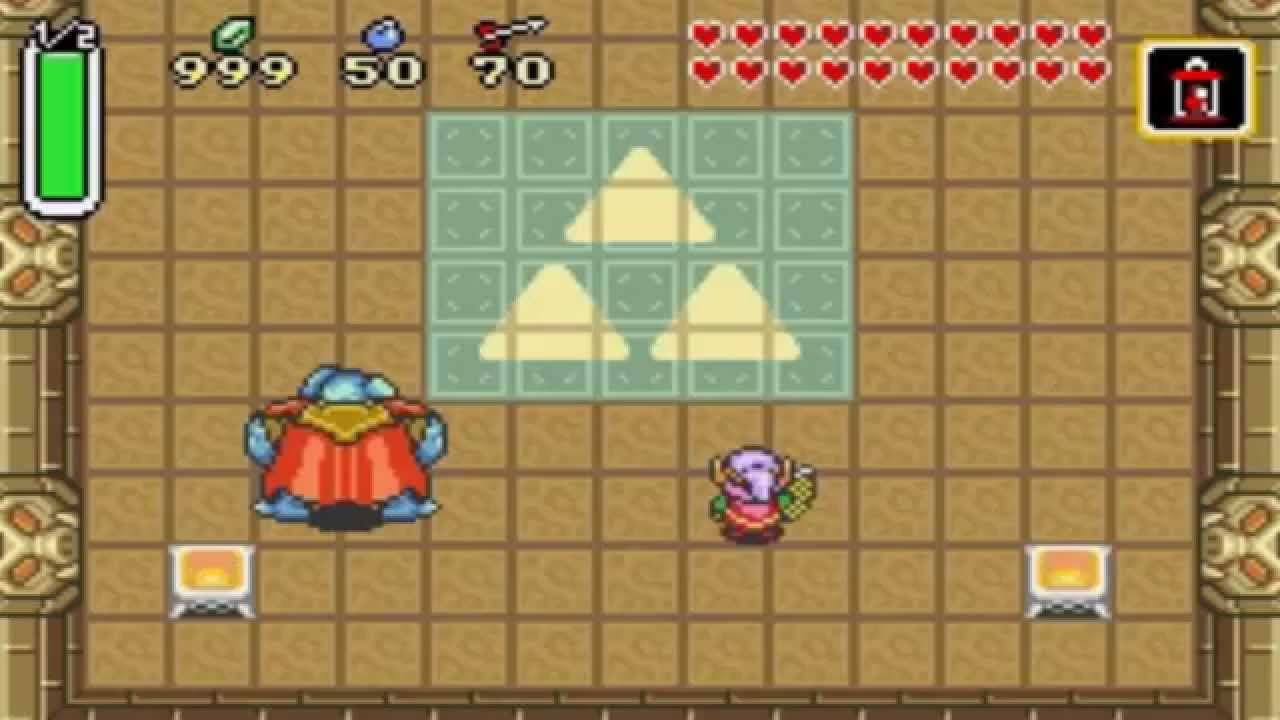 Zelda A Link To The Past Gba Ganon Arrowless