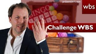 Bingo und Wundertüten sind kein Glücksspiel - Warum dann Lootboxen? | Challenge WBS - RA Solmecke
