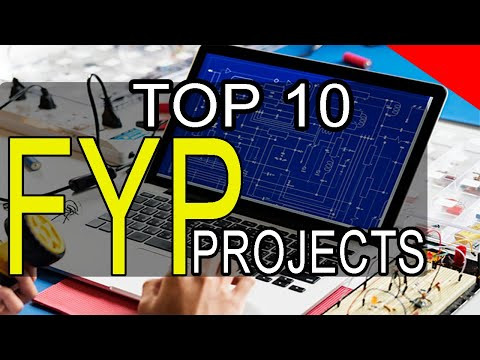 TOP 10  FYP Projects For Electrical Engineering  | fyp ideas | Electronics project  2020