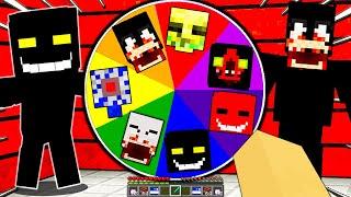 NON GIRARE la RUOTA DEGLI SCP POTENZIATI - Minecraft ITA