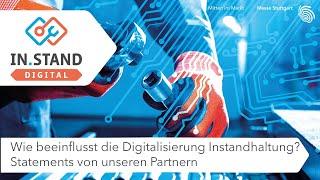IN.STAND Digital 2020: Wie beeinflusst die Digitalisierung Instandhaltung?