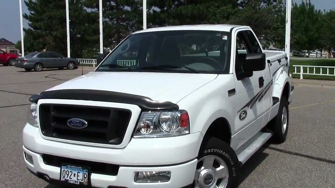 2004 ford f150 flare side sxt 4x4