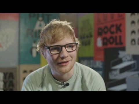 Ed Sheeran heeft een boodschap voor kinderen