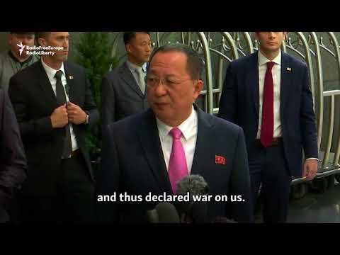 North Korea Says Trump Has Declared War