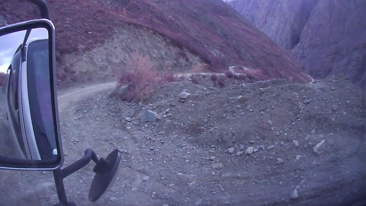 2. Спуск в долину Чулышмана. Перевал Кату-Ярык. - YouTube