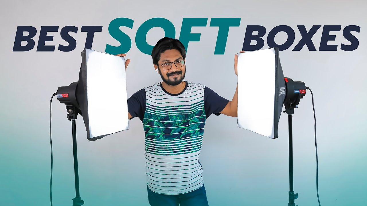 Best Video Lights With Soft Boxes For YouTube Videos | In Telugu By Sai Krishna