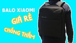 """Hàng không hỏng, không ướt với Balo 5 """"lít"""" cực xịn của Xiaomi"""