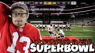 The Most Intense Superbowl Finish You are going to have to see to Believe... Madden 19 RTE #3