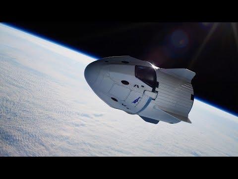SpaceX Dragon V2   Flight Animation   Doovi