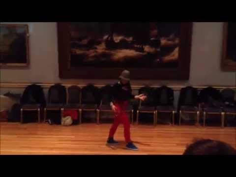 Rebecca Pollard  Bachata Hip Hop Fusion 2014 Dublin,Ireland