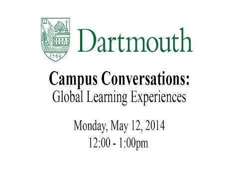 Campus Conversations: Global Learning Experiences