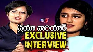 Priya Varrier Exclusive Interview | Lovers Day Movie | Priya Prakash Varrier & Roshan Interview