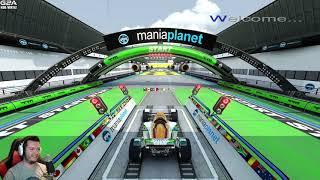 Trackmania 2 Stadium #03 - MAPA ZROBIONA DLA MNIE! /w Purposz