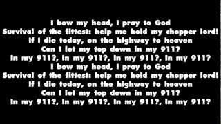 Rick Ross Ft. 2 Chainz - 911 (Remix) - Lyrics