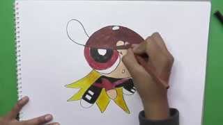 Dibujando y coloreando a Brick - Drawing and coloring Brick