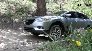 2013 mazda cx 9 colorado rockies off road drive and review