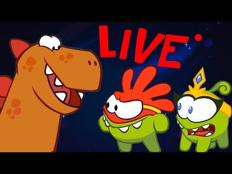 Om Nom Stories - Cut the Rope - All Episodes - LIVE 🔴