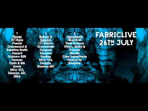 Grooverider Fabriclive   Bukem in session Promo Mix 2013