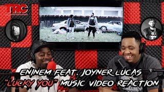 "Eminem feat. Joyner Lucas ""Lucky You"" Music Video Reaction"