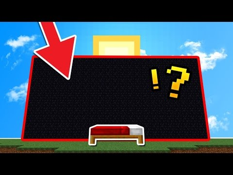 BLOCKING OUT THE SUN 🌞 IN BED WARS! (Minecraft)