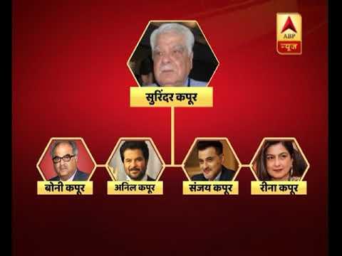 Family tree of Boney Kapoor and Sridevi