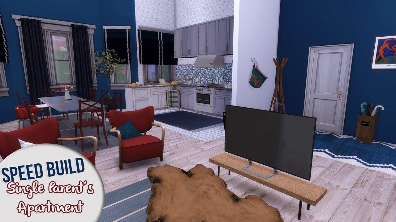 Single Parent Apartment Cc Links The Sims 4 Sd Build