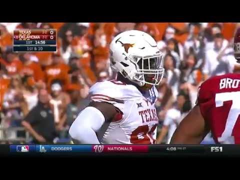 Texas vs Oklahoma football 2016