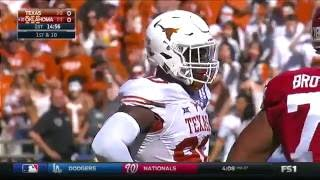 Texas vs Oklahoma football 2016