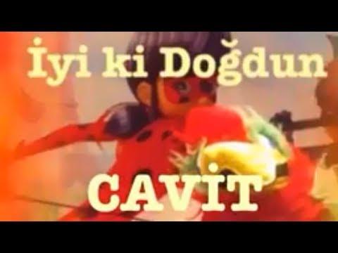 İyi ki Doğdun CAVİT :) Komik Doğum günü Mesajı 1.VERSİYON *happy birthday Cavit* Made in Turkey :) 🎂