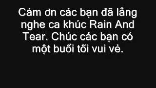Rain And Tear-guitar song tấu by Nhạc sỹ Nguyễn Bá Phúc, Nguyễn Tri Tâm