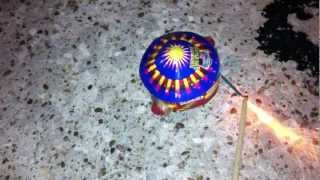 Neighbor Hater Spinning Aerial Firework Demonstration by Re
