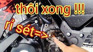 Gambar cover #11 | Cách khắc phục cốt nhông bị rỉ sét và cách vệ sinh | NVT Underbone | Motovlog Việt Nam