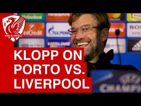Jurgen Klopp Pre-Match Press Conference | Porto vs. Liverpool (Champions League)