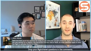 Live travel Q A with Scott and Flight Expert Julian