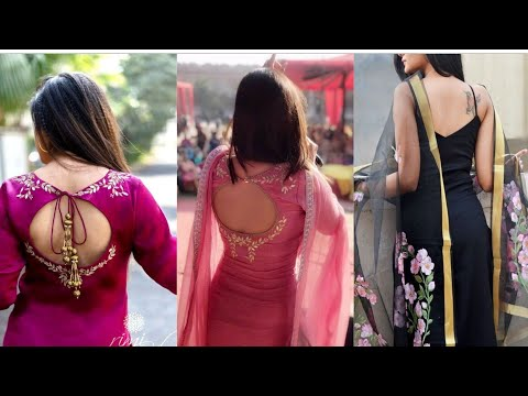 2019 Stylish Back Neck Designs | Salwar Suit Back Neck Designs | Latest Collection