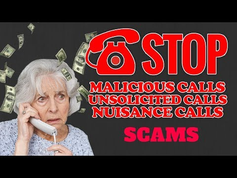 Stop Cold Calling Phone Scams