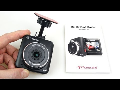 Transcend Drivepro 200 Car Recorder Dashcam - Full Review