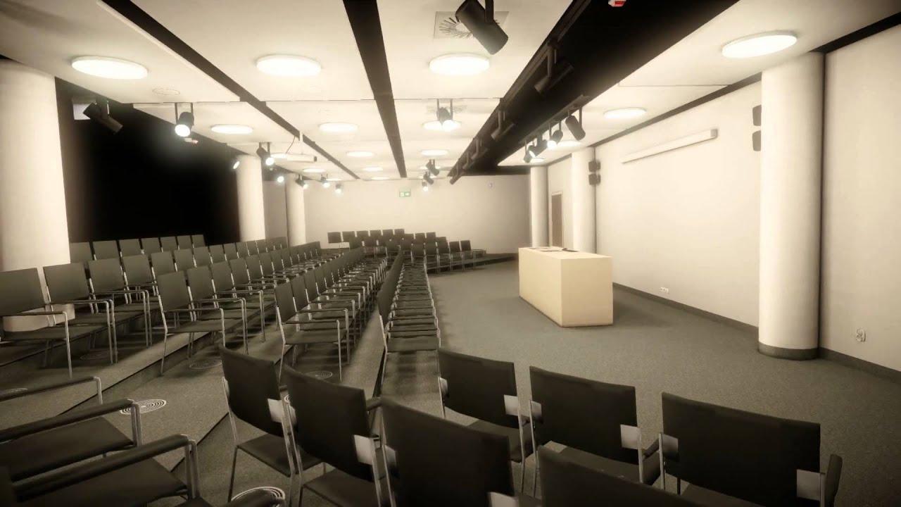 Wizualizacja budynku Instytutu Informatyki UMCS w Lublinie
