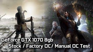 У GTX 1070 8 ГБ - акції / Фабрика ОУ / керівництво по ОС-тесту продуктивності в Іграх 2
