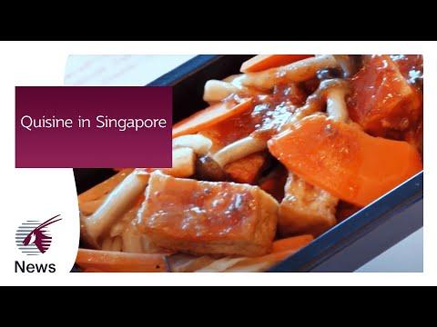 Quisine in Singapore | Qatar Airways