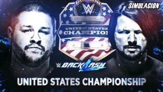Kevin Owens vs AJ Styles | WWE Backlash 2017 | SvR 2011 Simulación